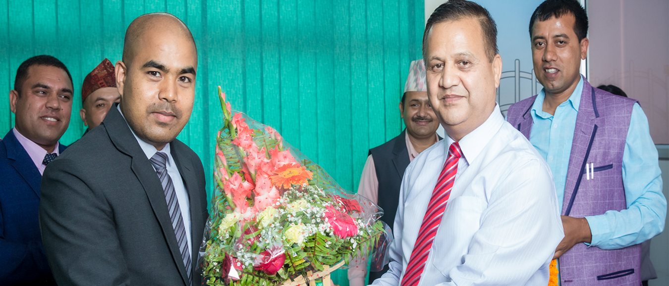 A warm welcome to Mr. Indra Khadka as an Executive Director of Bajra Security